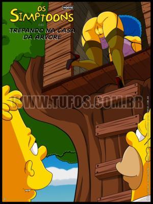 The Simpsons - [Tufos][Croc] - Os Simptoons 016 - Trepando Na Casa Da Arvore