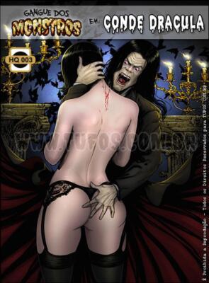 Gangue Dos Monstros 3 - Conde Dracula (Spanish) - page00 Cover