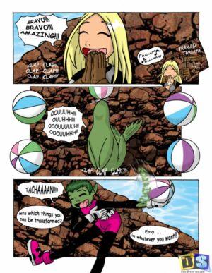 Girl Beast Boy Fucks Terra (English) - page01