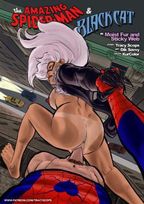Spider-Man - [Tracy Scops][Dik Savvy] - Moist Fur and Sticky Web GoToFap